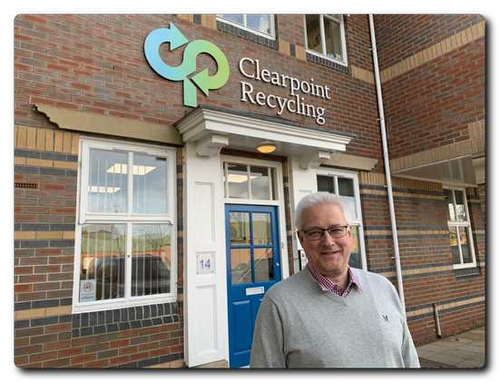 Andrew Perkins - head of paper at Clearpoint Recycling