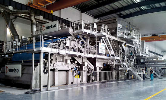 Metso to supply complete tissue line for Yunnan Yun-Jing Forestry and Pulp Mill in China