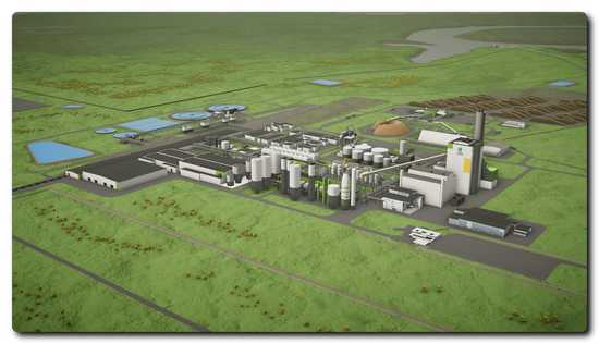 UPM will build a eucalyptus pulp mill with a production capacity of  2.1 million tonnes in Paso de los Toros, Uruguay. ANDRITZ will deliver all pulp production and power generating equipment as well as chemical recovery technologies for the mill. © UPM