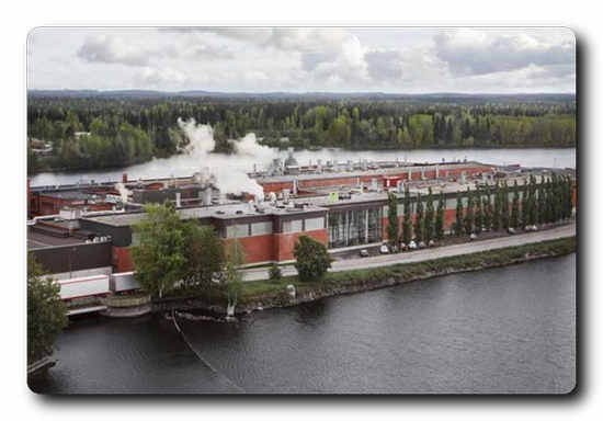 Valmet will supply an automation system update and expansion to Metsä Tissue Mänttä mill in Finland.  The automation system will be used to control the burners of the drying processes and manage Gasum's gas terminal.  Photo: Metsä Group