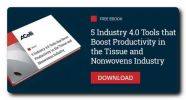 4 Tools for Tissue and Nonwovens Machines to Reduce and Optimize Idle Times